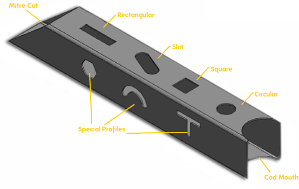 Laser Cut Tube Profiles
