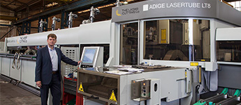 The Laser Cutting Co - Adige Lasertube LT8