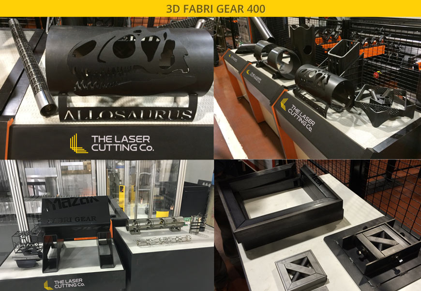 Automatic & Continuous 3D Laser Cutting