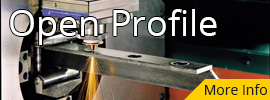 Open Profile Laser Cutting