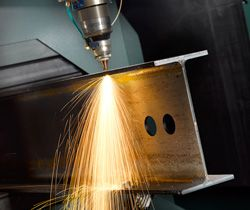 open-section-laser-cutting